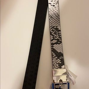 DKNY Leather Reversible Belt